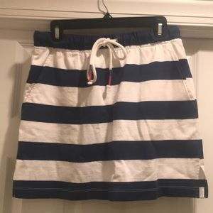 Vineyard Vines Terry Striped Skirt